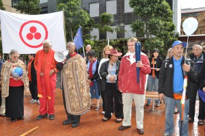 Les Maori adhèrent à la Marche Mondiale
