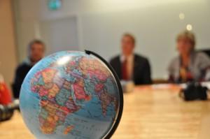 La planète mise en avant au cours de la rencontre avec deux parlementaires suédois