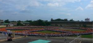 12'000 étudiants devant un public en larmes !