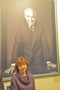 La directrice de la Fondation Gorbatchev à Moscou