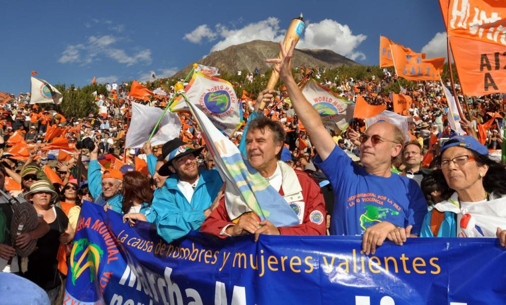 Fabuleuse arrivée à Punta de Vacas en présence de 20'000 personnes!